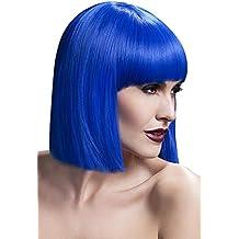 Parrucca Donna Caschetto Blu Lola PS 08326 Parrucche Carnevale