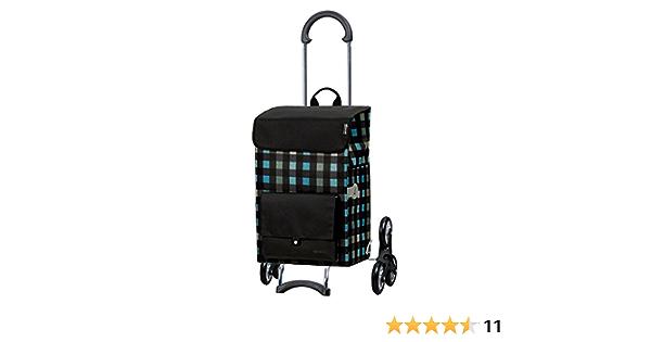 Andersen Shopper Royal Treppensteiger und 49 Liter Tasche Riva schwarz mit K/ühlfach