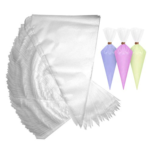 Kurtzy 200 Piezas Bolsa Pasteleria - Médium Plástico