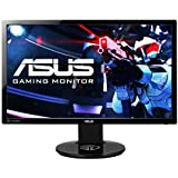 Asus VG248QE Gaming LED Backlit Computer Monitor 24 Inch Gaming Monitor 3D Vision Ready Eye Care 1Ms Response time & 144Hz Refresh Rate HDMI, DVI and Display Port
