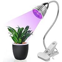 Planta crecer luz 15W LED Interior planta de jardín Lámpara de iluminación, 360grados, con brazo flexible para audio Hydroponic Luces para flores hortalizas invernadero plantas crecimiento
