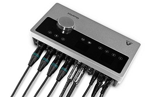 Apogee QUARTET USB 2.0 Audio-Interface (24-Bit/192 kHz, 4 symmetrische analoge Eingänge) - 6