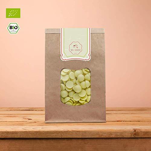 Kakaobutter-seife (süssundclever.de® Bio Kakaobutter Chips | 1 kg | Premium Qualität: hochwertiges Naturprodukt, unbehandelt, ungezuckert)