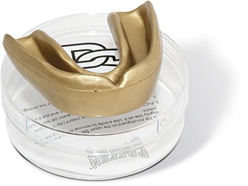 Paffen Sport ALLROUND MINT Zahnschutz, gold, für Erwachsene - Made in Germany