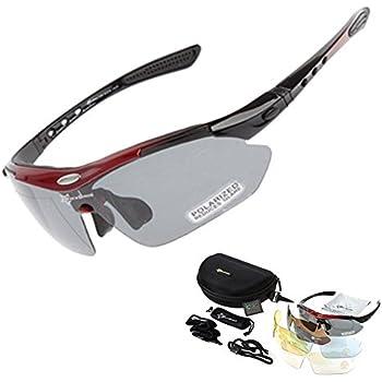 FENGRUIUI Polarisierte Sonnenbrille für Radfahrer, für Outdoor-Sport, Fahrrad, Brille, Objektiv
