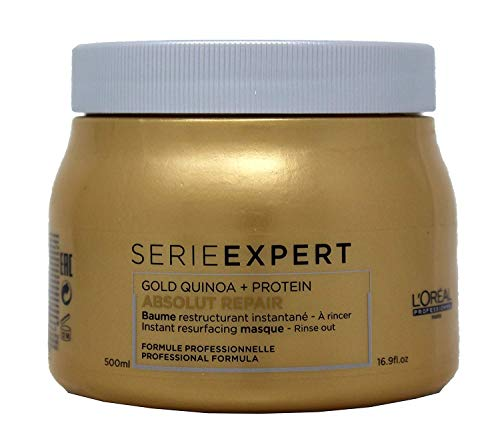 L\'Oréal Professionnel Série Expert Absolut Repair Gold Quinoa + Protein Instant resurfacing masque - Intensive, reparierende Maske, 500 ml