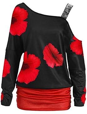 Momola Camisas - Túnica - Manga Larga - Para Mujer