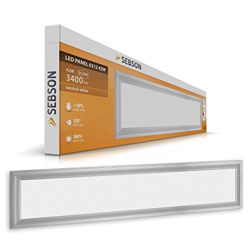 led panel 62x62cm 36w ultra slim bedingungslos dimmbar. Black Bedroom Furniture Sets. Home Design Ideas