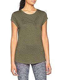 Amazon Puma Verde Ropa es Mujer Camisa q0qPx64r
