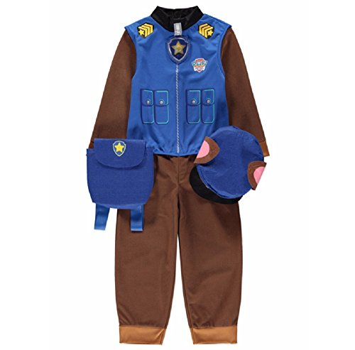 l Chase Childrens Fancy Dress Outfit Costume [2-3] by George (Chase Paw Patrol-kostüm)