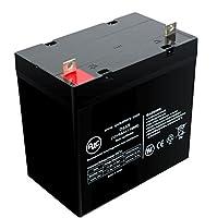 Etac Balder Liberty 12V 55Ah Wheelchair Battery - This is an AJC Brand® Replacement