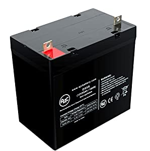 Etac Balder Liberty 12V 55Ah Wheelchair Battery - This is an AJC Brand® Replacement