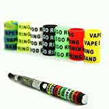 Vape band rings small ( Pack of Five Random Logo Designs ) 13mm x 7mm New For RTA RDA Atomizers Ego-T Evod Ego Twist Vision Spinner Batterys..UKSELLINGSUPPLIERS
