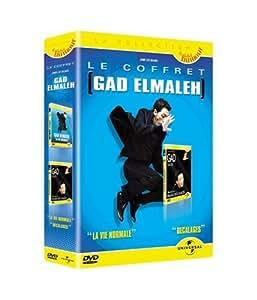 Coffret Gad Elmaleh 2 DVD : Décalages au Palais des glaces / La Vie normale