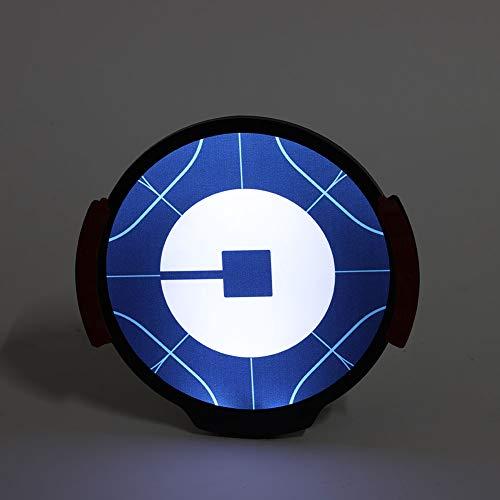 Auto Lyft Schild mit hellen LED-Leuchten Wireless Removable USB wiederaufladbare Licht-Logo-Zeichen Machen Sie Ihr Auto Visibl