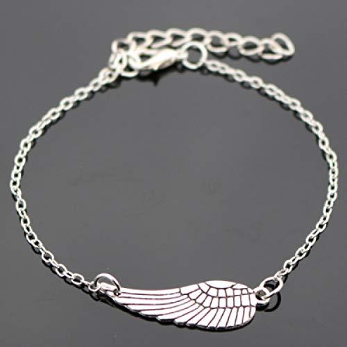 WODESHENGRI Armbänder,Herren Armband Vintage Kreative Metal Heart Armband Armreif Für Damen Herren Unisex Armbänder Gutes Geschenk (Kreative Billig Kostüme)