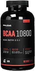 Body Attack BCAA 10800, 300 Kapseln, 1er Pack (1 x 300 Kapseln)
