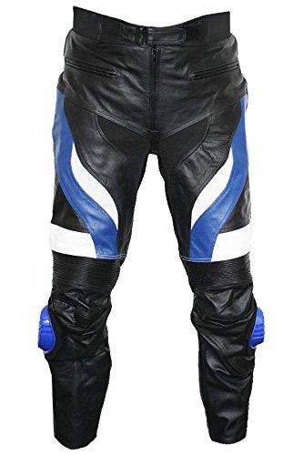 German Wear Pantalones de cuero para motocicleta