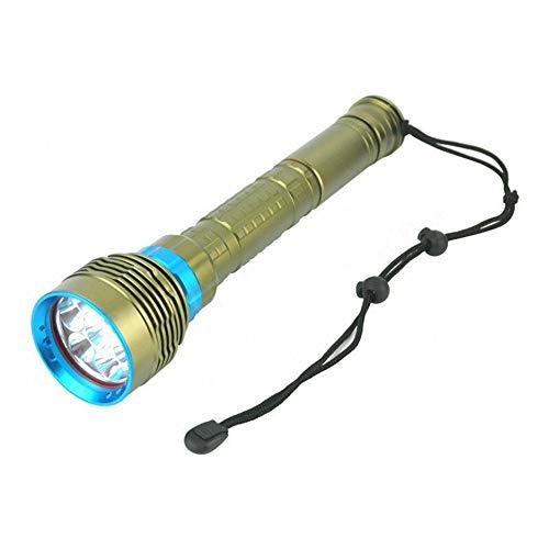 SYH Tauchtaschenlampe Professionelle wasserdichte 100-Meter-Aufladung Leicht zu transportieren für Tauchreisen unter Wasser -
