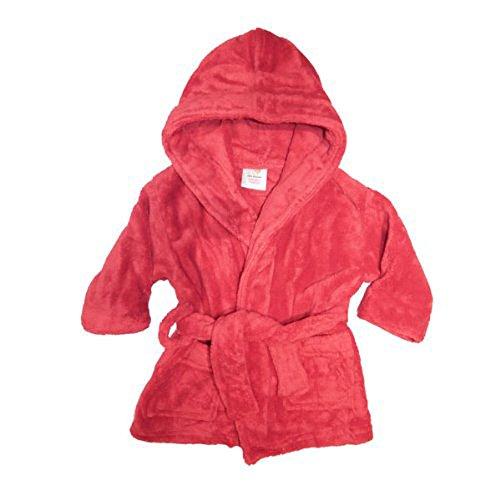 Superbe robe de chambre en polaire douce pour enfant Par Softtou Rouge - Rouge