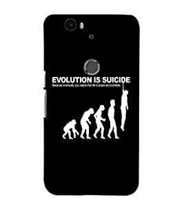 EPICCASE Evolution case Mobile Back Case Cover For Huawei Nexus 6P (Designer Case)