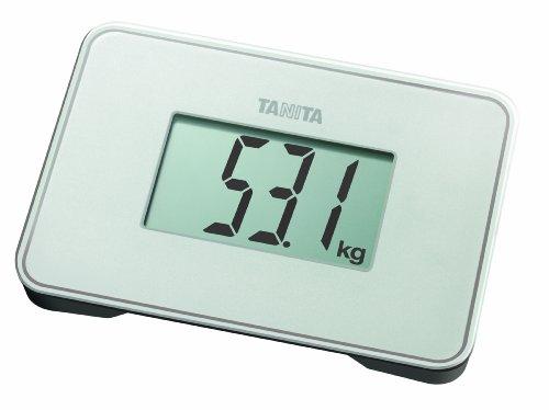 Tanita HD386W Super Compact Multi-Purpose Digital Scale Pearl White