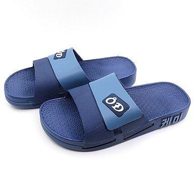 Winterstiefel FrauenPU -beiläufige Keilabsatz Sandalen Feder Sandalen US10 / EU43 / UK9 / CN44