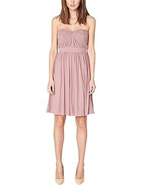 s.Oliver BLACK LABEL Damen Bustier Kleid 29.502.82.2536, Knielang, Einfarbig
