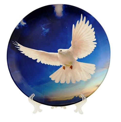 Flawless Pigeon Decorative Plate-10 by Sabstylish