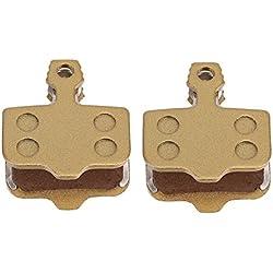 2Pares Pastillas de Freno de Disco, Almohadillas de Freno de Resina con Resortes para Srams Avid DB1 / DB3 / DB5