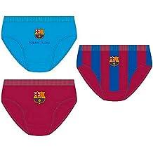 Pack 3 calzoncillos slip en caja regalo de FC Barcelona a454a3f22d4