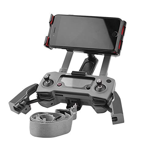 Bescita RC FPV Tablet Extension Bracket für DJI Mavic/Mavic 2 PRO/Zoom Monitor Handy Tablets Halterung 360 ° Drehhalterung (Schwarz) (Dji-monitor-halterung)