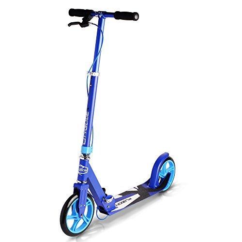 fuzion-cityglide-b200-adulte-kick-scooter-w-frein-220lb-poids-maximal-se-replie-poignee-reglable-bar