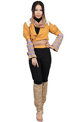 """ACGCos Bleach Cosplay Costume """"Demon cat†Shihouin Yoruichi 3rd Ver Outfit Set"""