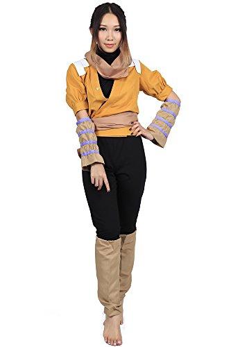 (De-Cos Cosplay Costume Demon Cat Shihouin Yoruichi Outfit Set V3)