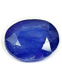 gemsonclick azul zafiro Piedra 4quilates original Oval Natural sueltos gemas