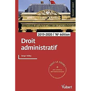 Droit administratif 2019-2020 - Tout le cours et des conseils méthodologiques