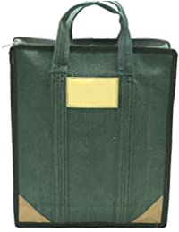 Multipurpose Reusable Shopping Bag/Grocery Bag/Milk Bag/Tiffin– (11x4x14 Inch) Green