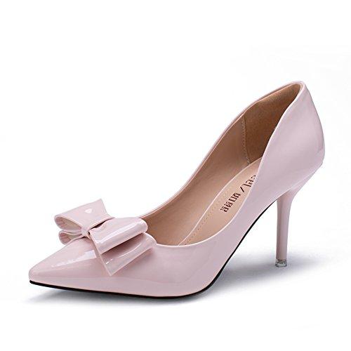 Summer a fait chaussures/Asakuchi stilettos/Bow chaussures de loisirs coréen C