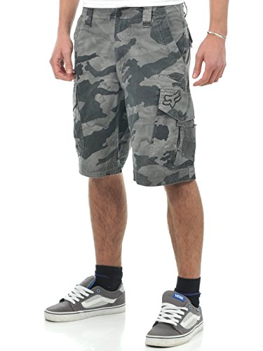 Fox Cargo Shorts Slambozo Camo Grau Camo (42 Eu , Grau) (Slambozo Camo)