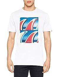 Quiksilver Classic Fin Fanatic Camiseta, Hombre, Blanco (wbb0), S