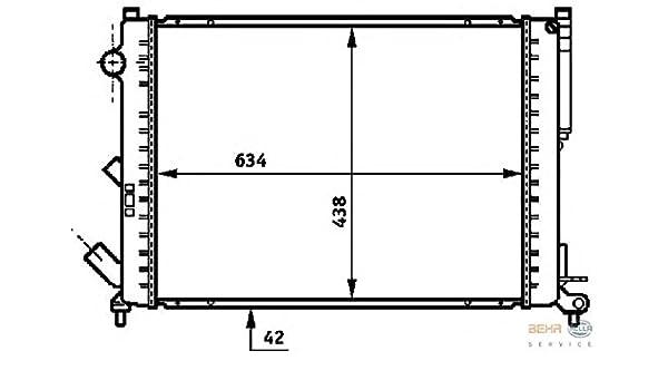 RENAULT AVANTIME 8MK376718061 Radiator by HELLA: Amazon co uk: Car