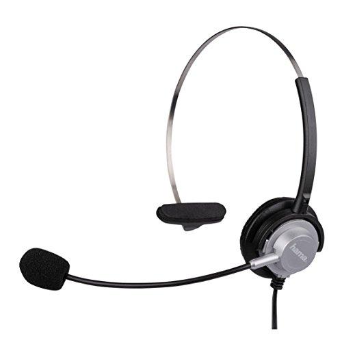 Hama Kopfbügel-Headset für DECT-Telefone, 2,5mm Klinke (Schnurgebundenes Schnurloses Telefon Headset)