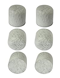 Pack of 6 Generic Charcoal Water Filters s for Farberware 898677 Digital Coffee Maker