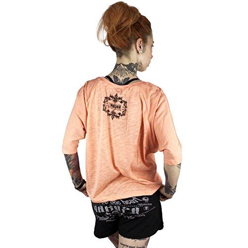 Yakuza Original Damen Taste The Blood Shirt Longsleeve papaya punch