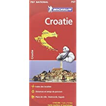 Carte national Croatie - N°757 l'echelle : 1/750000
