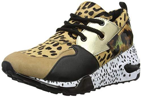 Steve Madden Damen Cliff Sneaker, Mehrfarbig (Animal 911), 40 EU