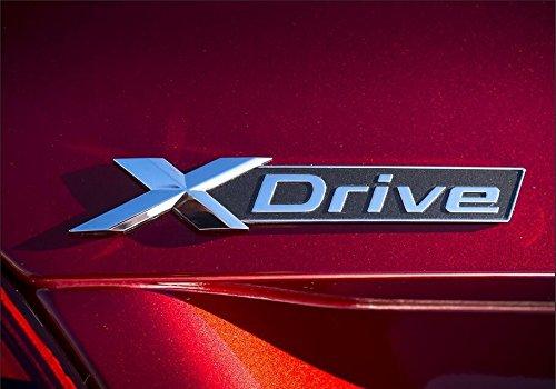 Auto Schriftzug (E906 X Drive Emblem schriftzug Badge auto aufkleber 3D car Sticker Appliqu)