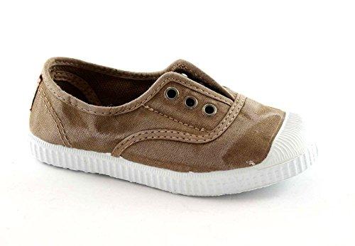 CIENTA 70777 28/34 beige scarpe unisex elastico tessuto 30