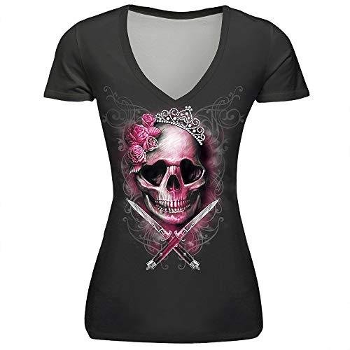 BIRAN-5 Tshirt Mujer Verano Moda Floreadas Camisas Único...